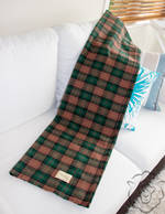 Tartan Woollen Throw - Scottish Check