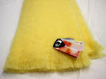 NZ Made Mohair Throw - Lemon