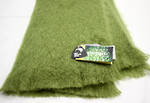 NZ Made Mohair Throw - Fern