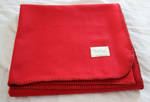 Pixiue Red Woollen Throw
